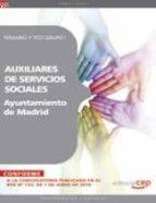 auxiliares de servicios sociales del ayuntamiento de madrid. tema rio y test grupo i. 9788468100777