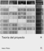 teoria del proyecto helio piñon 9788483018477