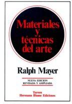 materiales y tecnicas del arte-ralph mayer-9788487756177