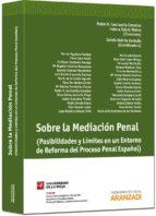 sobre la mediacion penal marien aguilera morales 9788490140277
