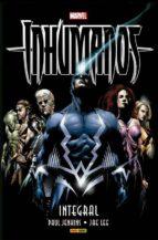inhumanos: integral paul jenkins jae lee 9788491671077