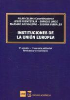 instituciones de la union europea (2ª ed.)-jesus fuentetaja-mariano bacigalupo-9788494605277