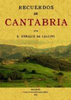 recuerdos de cantabria (ed. facsimil) enrique de leguina 9788497614177