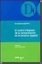 el control integrado de la contaminacion en el derecho español inmaculada revuelta perez 9788497680677