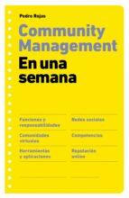 community management en una semana-pedro rojas-9788498751277