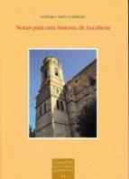 El libro de Notas para una historia de leciñena autor GONZALO GAVÍN GONZÁLEZ EPUB!