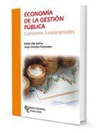 economia de la gestion publica: cuestiones fundamentales emilio abi ibañez jorge onrubia fernandez 9788499611877