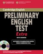 cambridge exams extra pet : student book with answers + cd rom 9780521676687
