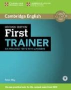 first trainer. six practice test with answers (2nd ed.) (download audio) 9781107470187