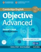 objective advanced student s book without answers with cd-rom 4th edition-9781107674387