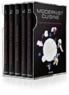 modernist cuisine: el arte y la ciencia de la cocina (estuche 6 v ols.) nathan myhrvold chris young 9783836532587