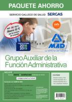 paquete ahorro auxiliar de la función administrativa del servicio gallego de salud. 9788414216187