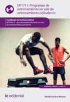 programas de entrenamiento en sala de entrenamiento polivalente. afda0210 (ebook)-daniel carrera moreno-9788417026387