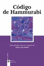 codigo de hammurabi federico lara peinado 9788430944187