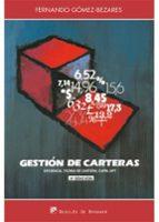 gestion de carteras (4ª ed. ampliada) fernando gomez bezares 9788433028587