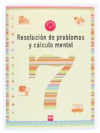 resolucion de problemas y calculo mental 7 9788434898387