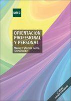 orientación profesional y personal (ebook)-maria fe sanchez garcia-9788436272987