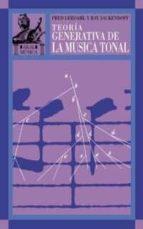 teoria generativa de la musica tonal-fred lerdahl-ray jackendorf-9788446015987