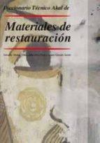 diccionario tecnico akal de materiales de restauración salvador muñoz viñas 9788446025887