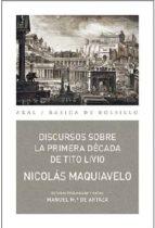 discursos sobre la primera década de tito livio nicol�s maquiavelo 9788446042587
