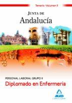 diplomado en enfermeria personal laboral grupo ii de la junta de andalucia: temario. volumen ii-9788467622287