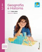 geografia e historia 3º eso mochila ligera volumenes ed 2015 9788468020587