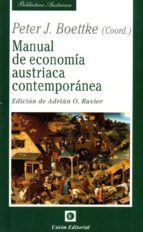 manual de economia austriaca contemporanea peter j. boettke 9788472097087