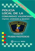policia local de valencia: pruebas psicotecnicas (2ª ed.) 9788482191287