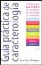 guia practica de caracterologia-jose gay bochaca-9788484690887