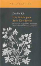 una tumba para boris davidovich danilo kis 9788492649587