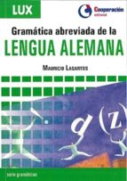 gramatica abreviada de la lengua alemana-mauricio lagartos-9788495920287