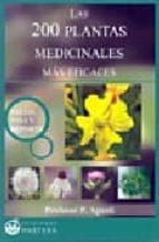 las 200 plantas medicinales mas eficaces-p. agusti-9788496319387