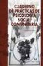 cuaderno de practicas de psicologia social comunitaria-itziar fernandez sedano-9788496808287