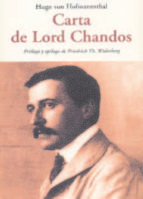 carta a lord chandos hugo von hofmannsthal 9788497167987