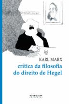 crítica da filosofia do direito de hegel (ebook) 9788575591987