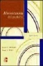 administracion del producto (4ª ed.)-donald lehmann-9789701062487