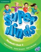 super minds level 2 student s book with dvd rom herbert puchta gunter gerngross peter lewis jones 9780521148597