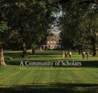 a community of scholars (ebook)-9781400839797