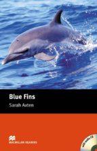 blue fins (starter level) (incluye audio-cd)-sarah axten-9781405077897