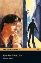 penguin readers level 1: run for your life (libro + cd) stephen waller 9781405878197