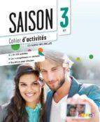 saison 3: cahier d activites (incluye cd) marie noëlle cocton 9782278081097