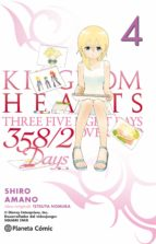 kingdom hearts 358/2 days 4-shiro amano-9788416308897