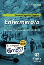 ENFERMERO-A DEL SAS. TEMARIO ESPECÍFICO VOLUMEN 3