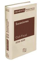 memento práctico sucesiones (civil fiscal) 9788417162597