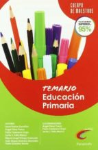 cuerpo de maestros temario educacion primaria-9788428380997