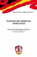 fuentes del derecho nobiliario vanessa e. gil rodriguez de clara 9788429016697