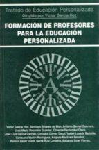formacion de profesores para la educacion personalizada 9788432131097