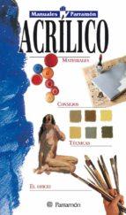 manuales parramon: acrilico-9788434219397