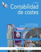 contabilidad de costes (3ª ed.) mª angela jimenez montañes carlos mallo rodriguez 9788436823097