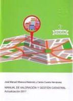 manual de valoración y gestión catastral josé manuel villanova redondo 9788461747597